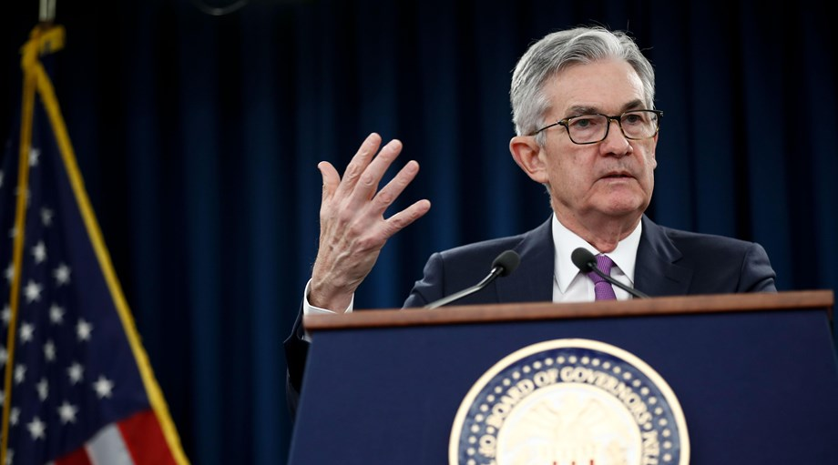 Powell's 'half-full' U.S. glass sturdy but still at risk for spills as Fed meets