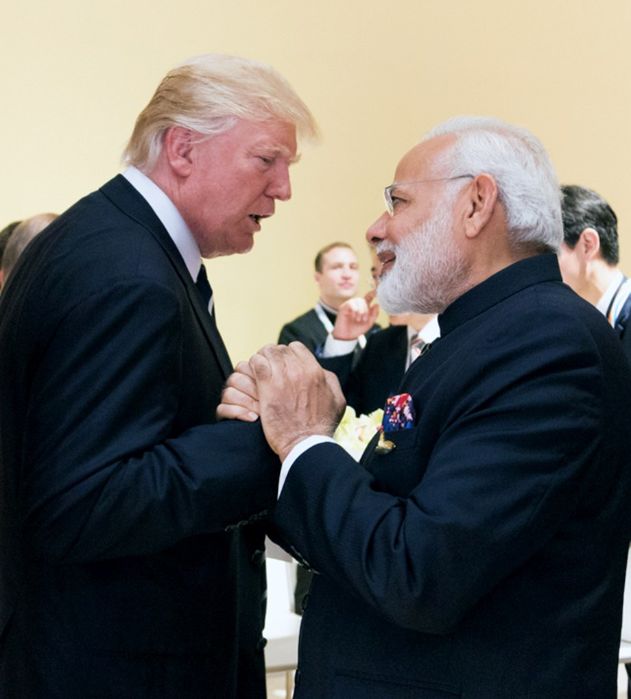 PM Modi speaks to Trump; expresses desire to enhance cooperation in areas of mutual interest: PMO statement.