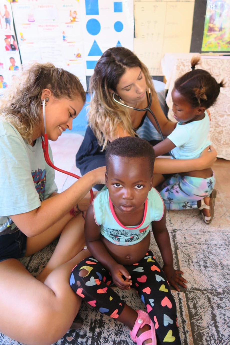 You Make the Difference. Global Volunteering Opportunities