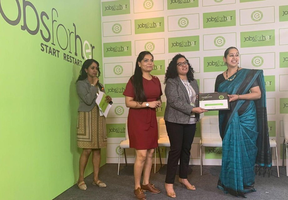 Experian India awarded 'Top20 Most Innovative Practices - DivHERsity Programs' in India at AccelHERate 2019