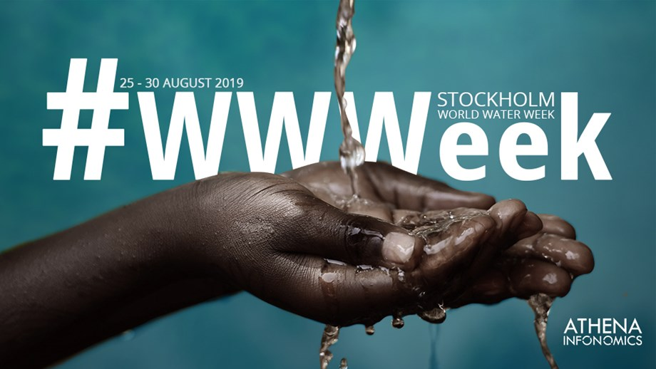 Athena Infonomics' to participate in World Water Week 2019