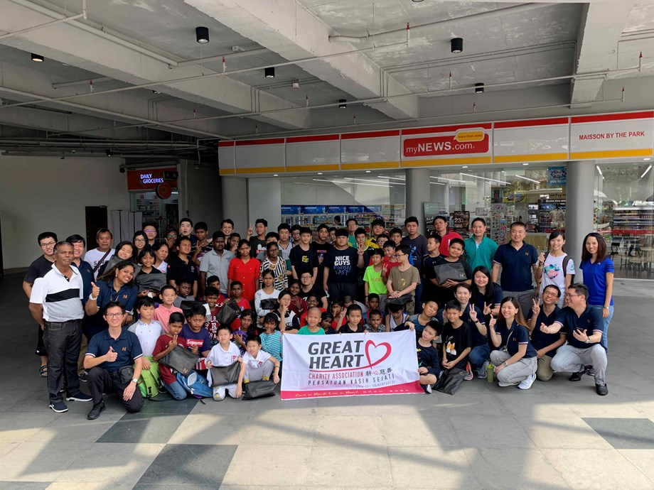 Great Heart Charity partners with Newfields Land to organise edutainment day for over 60 children